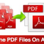 Cómo combinar archivos PDF en el teléfono Android