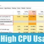 Anfitrión del servicio: Sistema Local - Cómo arreglar el alto uso de la CPU