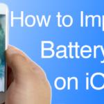 Cómo aumentar fácilmente la vida de la batería en el iOS 10