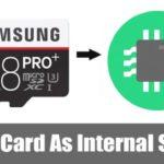 A continuación se explica cómo usar la tarjeta SD como almacenamiento interno en Android