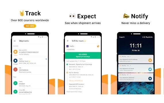 5 mejores aplicaciones de seguimiento de paquetes para Android