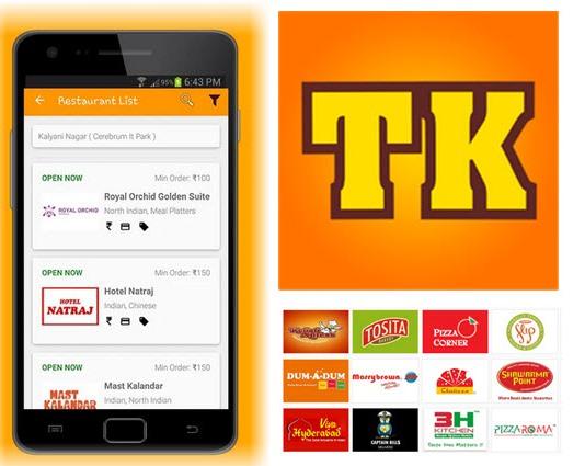 Las mejores aplicaciones de Android para la entrega de alimentos a domicilio en la India