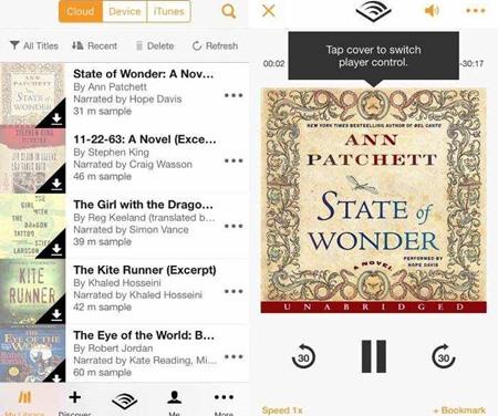 Las mejores formas de reproducir audiolibros en los dispositivos iOS