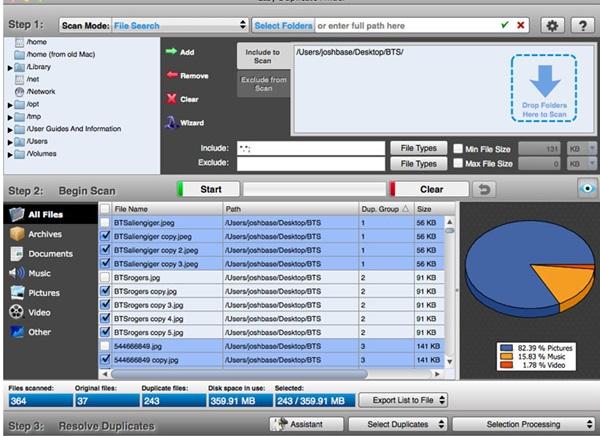 Cómo encontrar y eliminar archivos duplicados en MAC