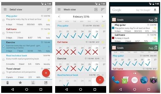 Las 15 mejores aplicaciones de definición de objetivos para Android