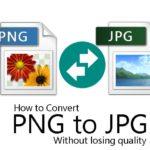 Cómo convertir fotos PNG a JPG sin perder calidad