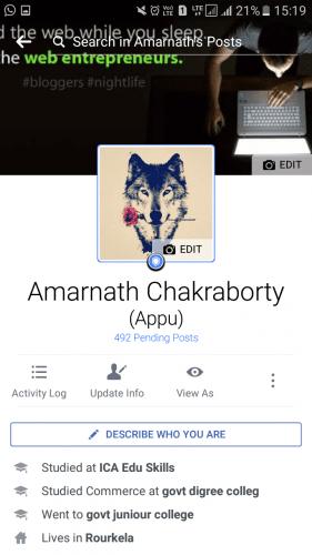 Protector de fotos del perfil de Facebook: Así es como puedes usarlo