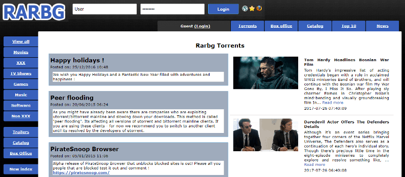 Alternativas Torlock: 15 mejores sitios de torrents para visitar en 2020