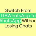 Cómo pasar de GBWhatsApp a WhatsApp sin perder los chats