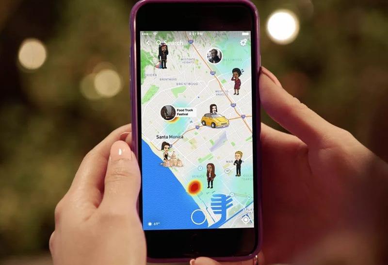 Cómo usar Snapchat sin compartir tu ubicación