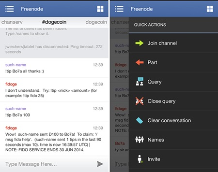 Los mejores clientes IRC (Internet Relay Chat) para Android
