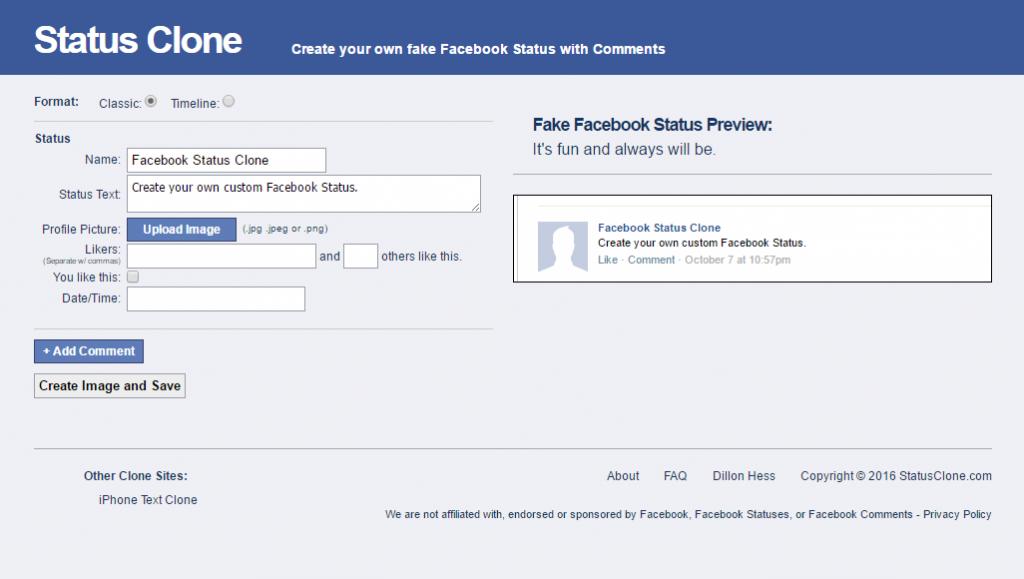 Cómo crear una falsa conversación en Facebook en línea