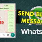 Este es el truco para enviar un mensaje en blanco en WhatsApp