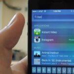 Cómo borrar el historial de búsqueda de Spotlight en iPhone