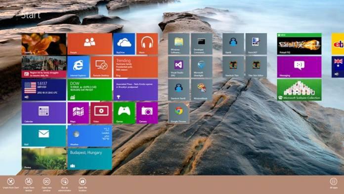 6 maneras de personalizar la pantalla de inicio de Windows 10 u 8