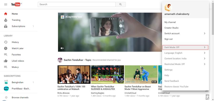 YouTube tiene un secreto *Modo oscuro* - ¡Así es como puedes activarlo!