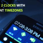 Cómo mostrar los relojes duales para diferentes zonas horarias en tu Android