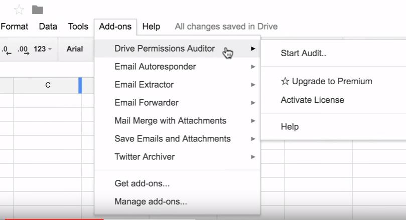 Encuentra quién tiene acceso a tus archivos y carpetas de Google Drive