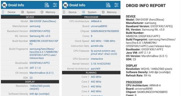 Cómo encontrar la información de su dispositivo Android para la descarga correcta del APK