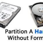 Cómo dividir un disco duro en Windows sin formatear
