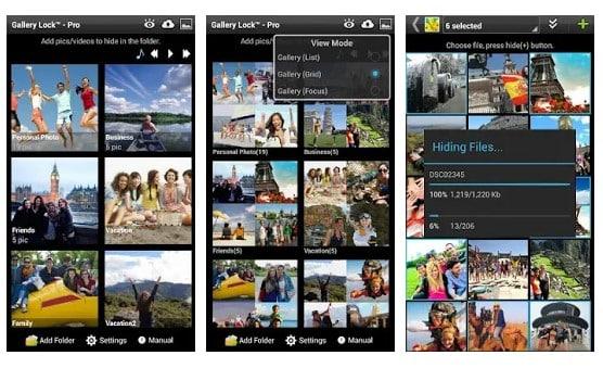 Las 15 mejores aplicaciones para Android para ocultar fotos y vídeos