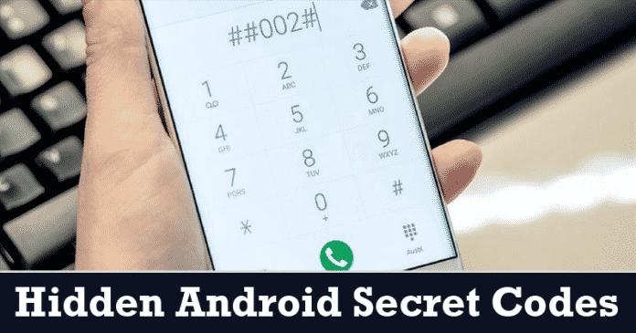 Más de 500 de los últimos códigos secretos mejor ocultos de Android 2020