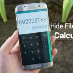 Cómo ocultar archivos y carpetas dentro de la calculadora en Android