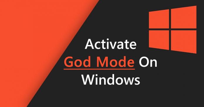 Cómo activar el modo Dios en Windows 7, 8 y 10