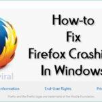 Cómo arreglar la caída de Firefox en Windows