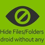 Cómo ocultar ciertas imágenes en Android sin ninguna aplicación