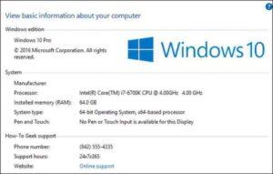 Cómo personalizar la información del fabricante para su PC con Windows