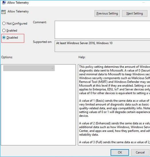 Cómo arreglar la compatibilidad de Microsoft Uso del disco duro de telemetría!