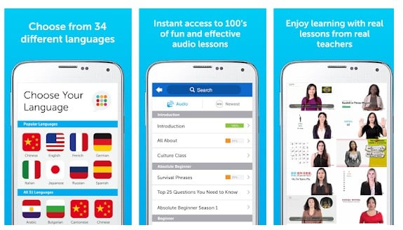 25 mejores aplicaciones para aprender un nuevo idioma en Android