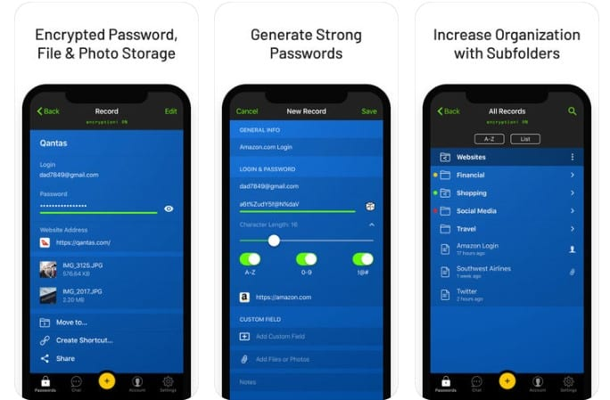 Las 15 mejores aplicaciones del Administrador de Contraseñas para el iPhone 2020