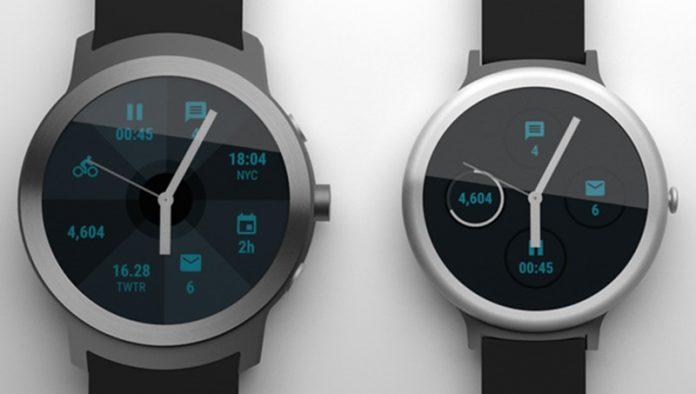 Las imágenes de los relojes inteligentes de LG se filtraron por Internet y se publicaron en febrero.