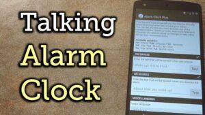 """Haz que tu Android hable con un texto personalizado en el """"Snooze"""" o en el """"Dismiss Of Alarm""""."""