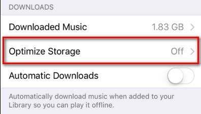 Cómo optimizar el almacenamiento de música de tu iPhone para liberar espacio automáticamente