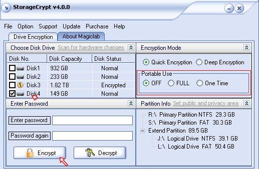Cómo proteger las unidades de disco duro externas con contraseña