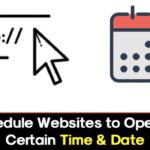 Cómo programar los sitios web para que se abran a cierta hora y fecha