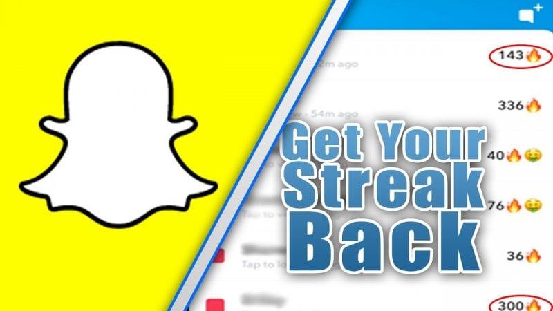 Cómo recuperar el rastro de Snapchat después de perderlo