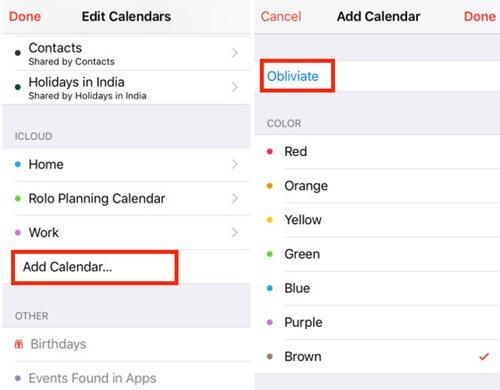 Cómo detener el spam del calendario iCloud invita