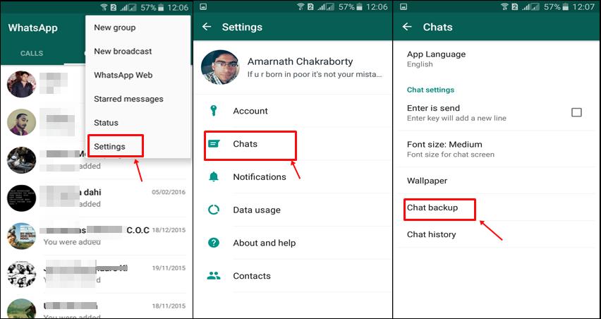 Cómo mantener seguros los datos de WhatsApp con Google Drive