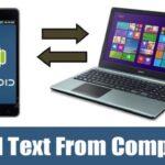 Cómo enviar texto desde la computadora (6 formas de trabajo) 2020
