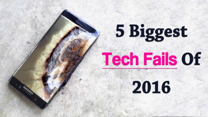 Los 5 mayores fracasos tecnológicos de 2020