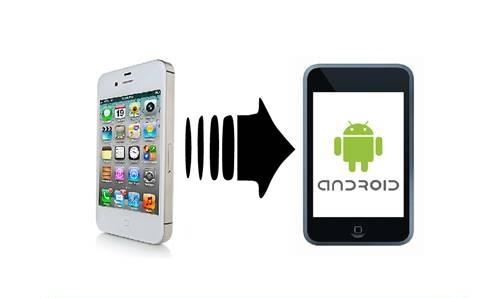 Cómo transferir datos de iPhone a Android