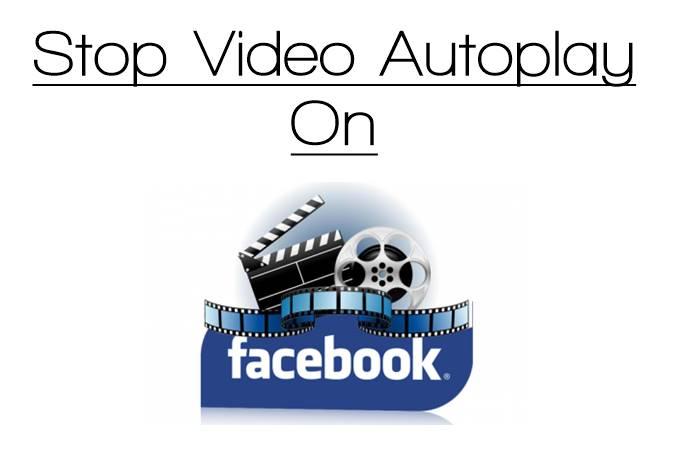 Cómo desactivar la Reproducción automática de vídeo en Facebook
