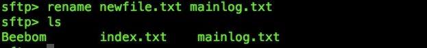 Cómo usar el terminal Mac como un cliente FTP o SFTP
