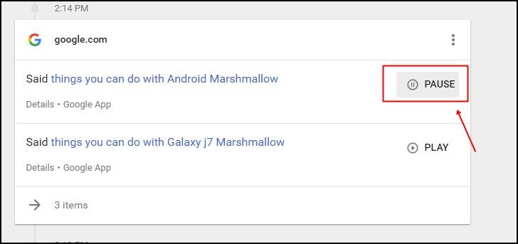 Cómo ver y borrar todo el historial de voz de Google Now