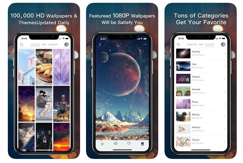 Las 10 mejores aplicaciones para el iPhone para generar fondos de pantalla ilimitados