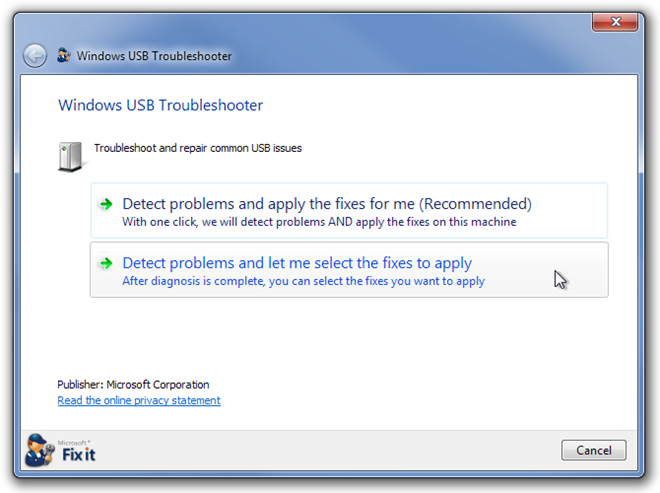 Cómo reparar un dispositivo USB que no reconoce un error en Windows